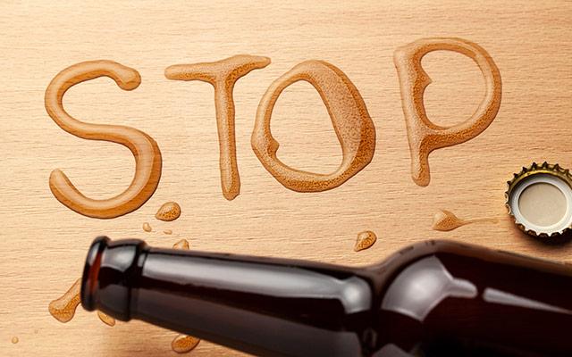 STOP pitju piva